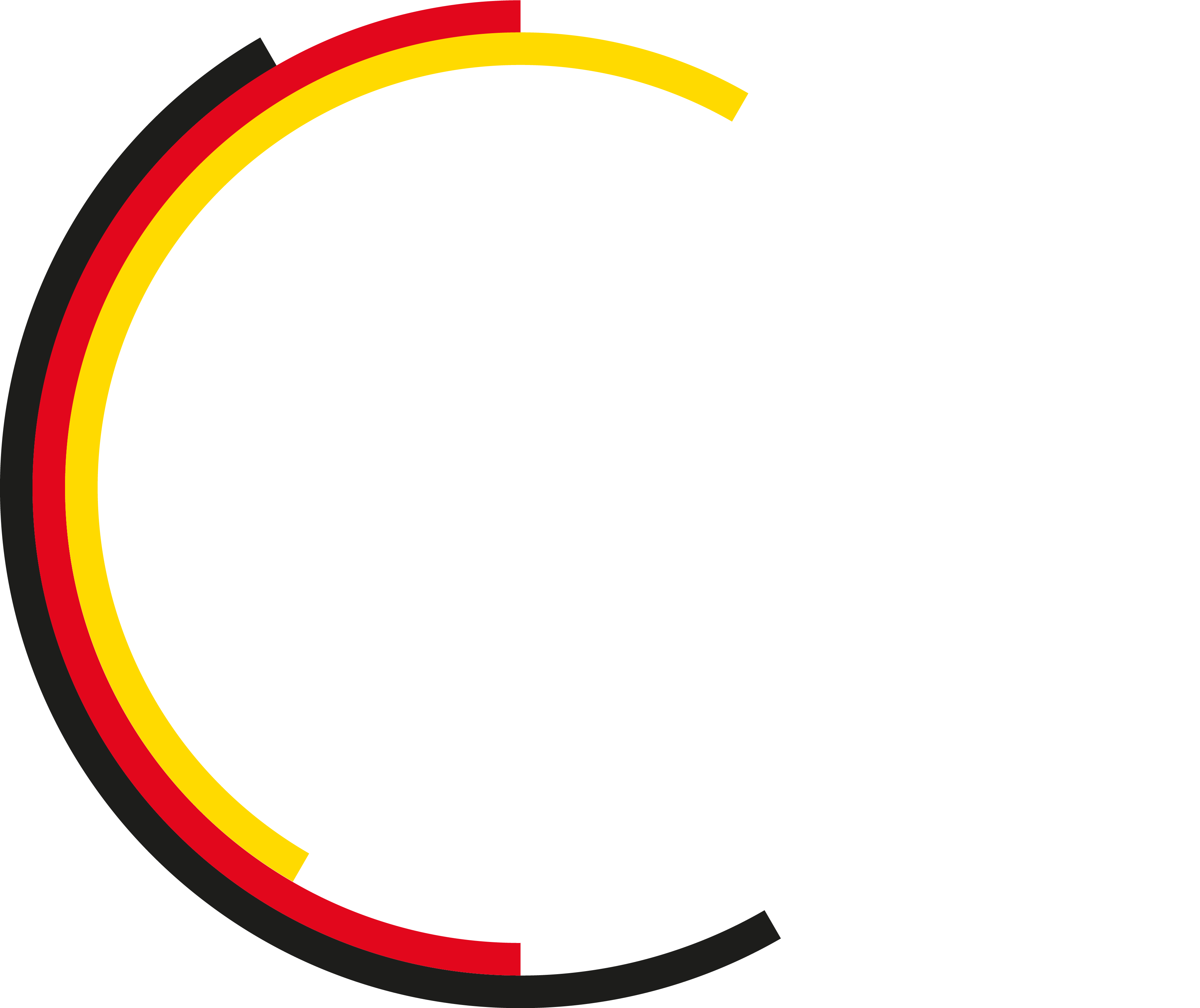 logo of our motto: designed, developed and made in Germany