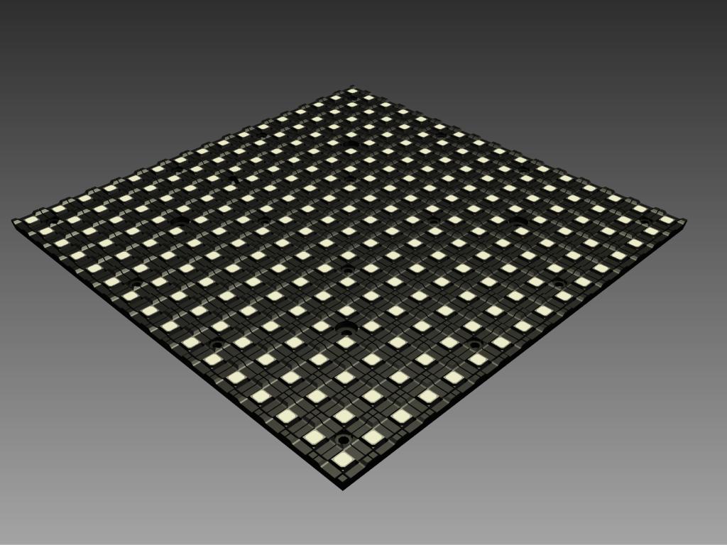kleines und leichtes LED-Videomodul TILE6®