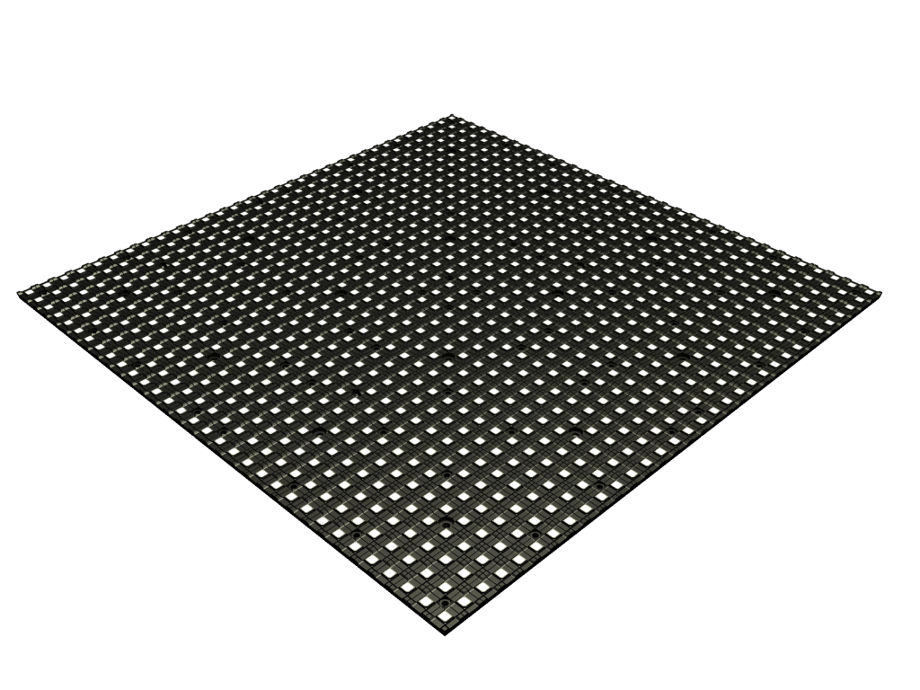 mid size and light weight LED video modul TILE6-X®