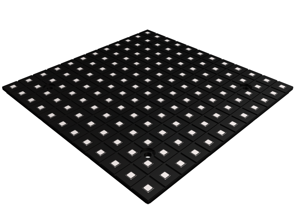 small size and light weight LED video modul TILE8®
